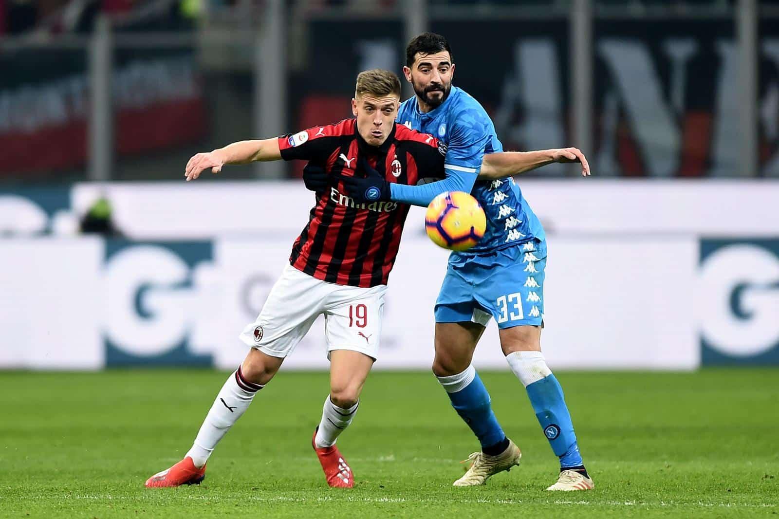Piatek Milan trasferimento calciomercato Genoa
