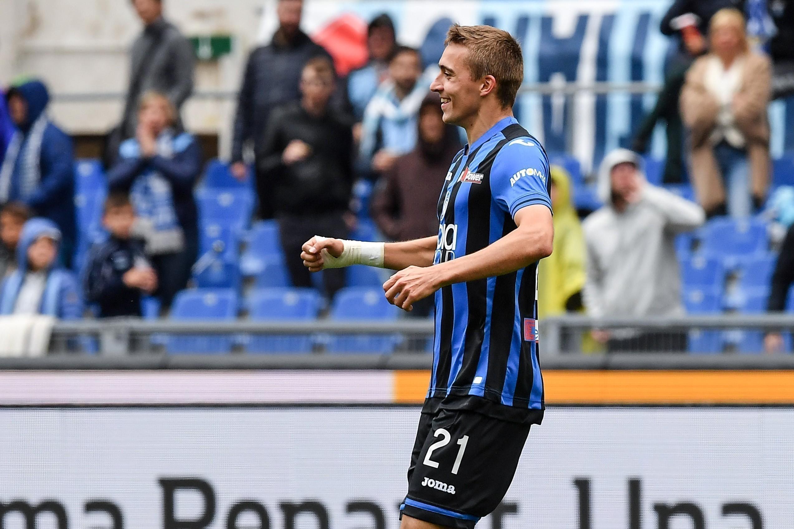 esultanza gol Timothy Castagne Atalanta