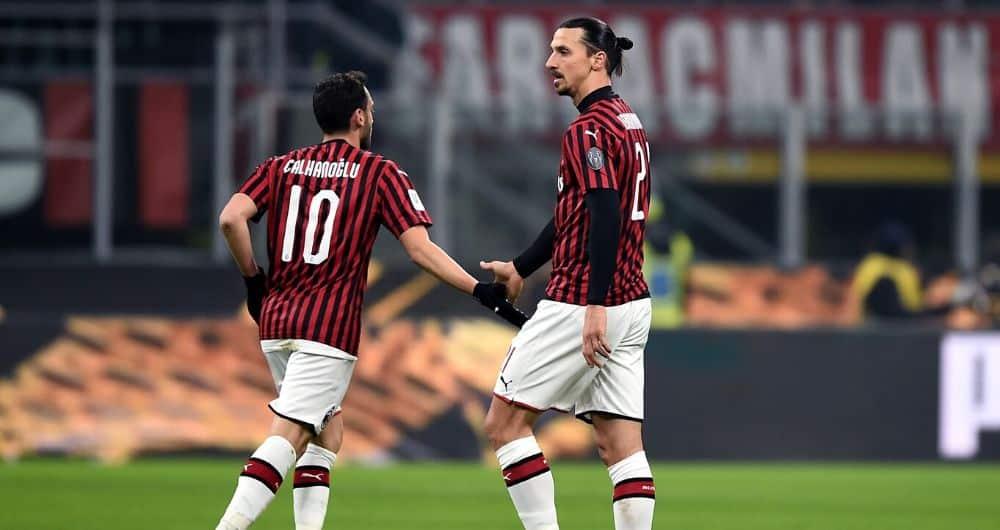 Calhanoglu-Ibrahimovic-Milan