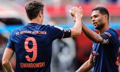 Lewandowski Gnabry Bayern Monaco