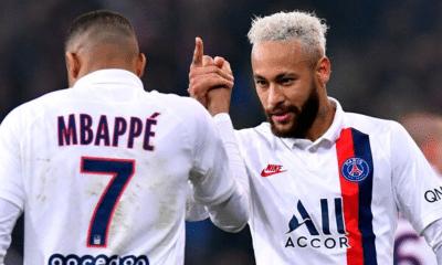 Mbappe Neymar Psg