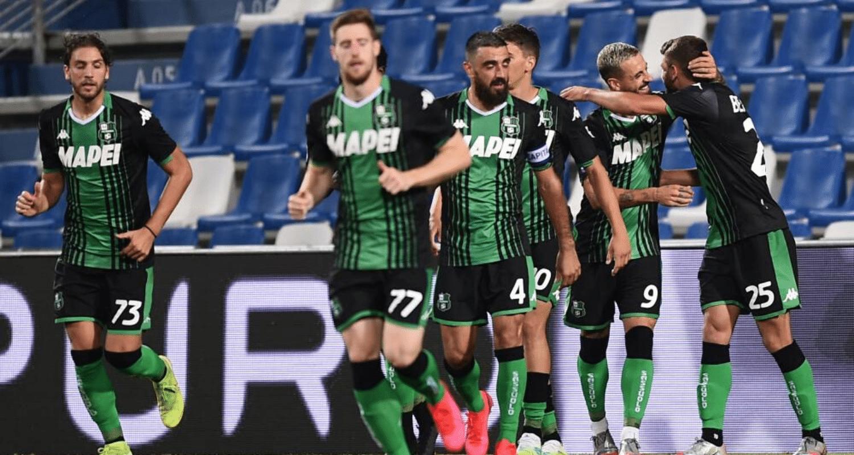 esultanza gol Domenico Berardi Sassuolo