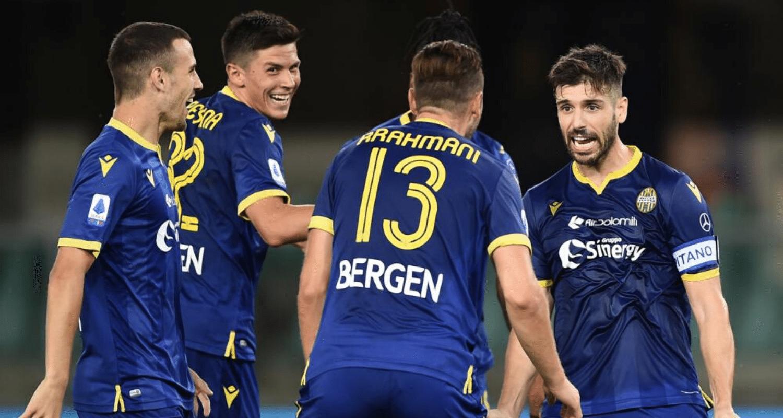 esultanza gol Miguel Veloso Verona