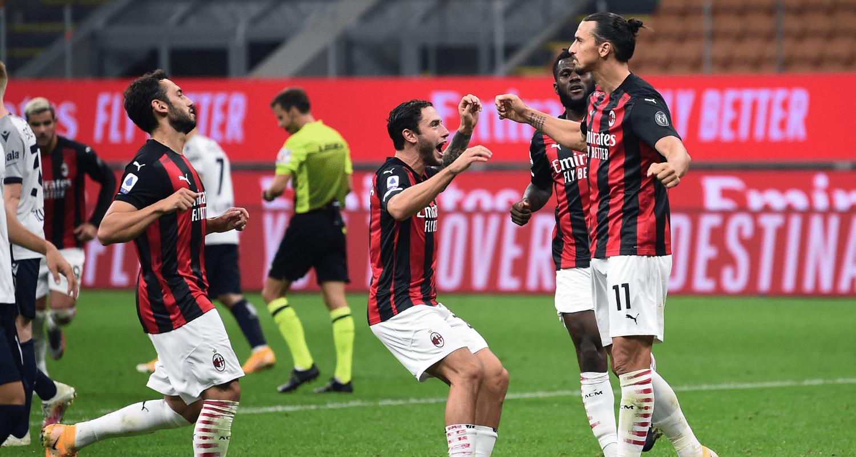 Esultanza gol Ibrahimovic Milan
