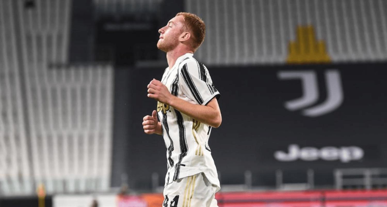 esultanza gol Dejan Kulusevski Juventus