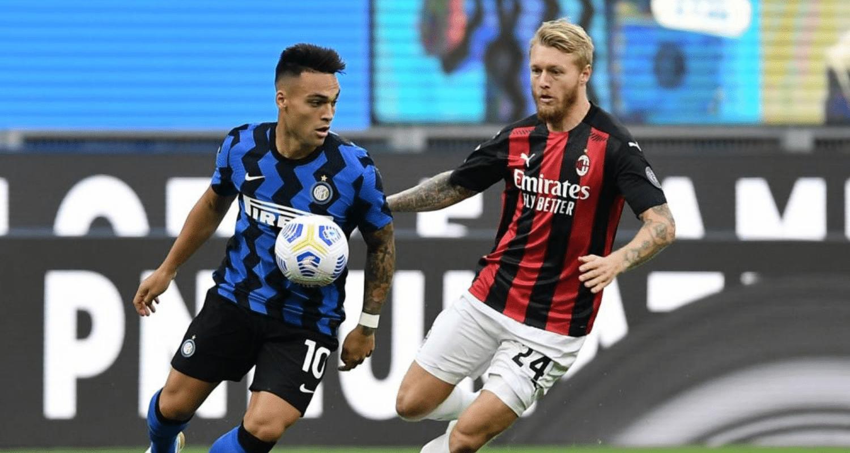 Lautaro Martinez-Simon Thorup Kjaer Inter-Milan