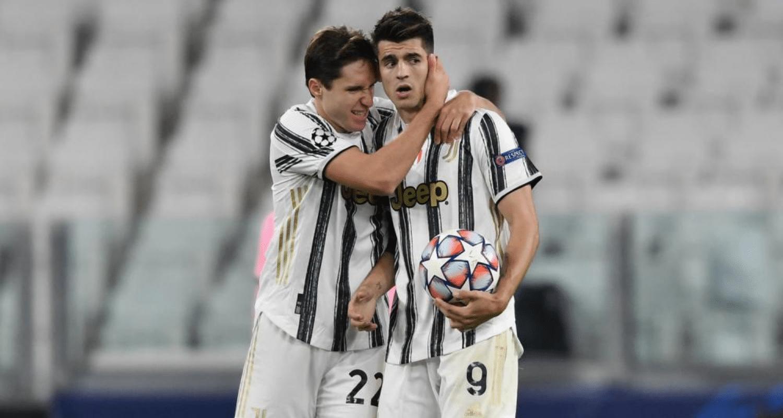Alvaro Morata-Federico Chiesa Juventus