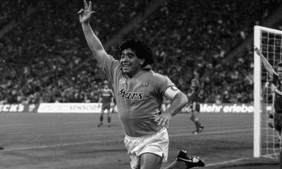 Diego Armando Maradona Napoli