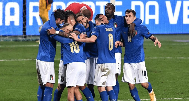 Esultanza Berardi Nazionale Italia