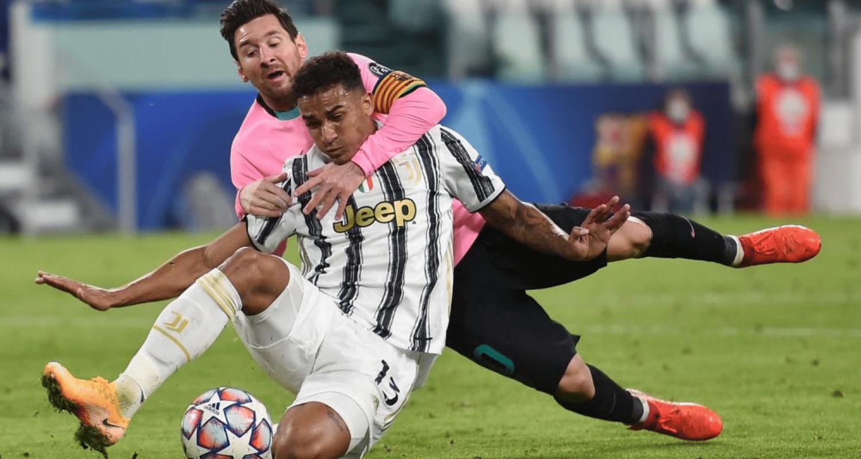 Lionel Messi-Danilo Juventus-Barcellona