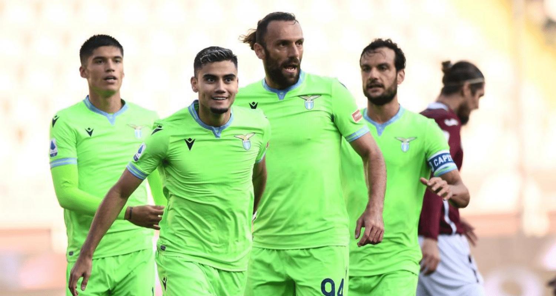 esultanza gol Andreas Pereira Lazio