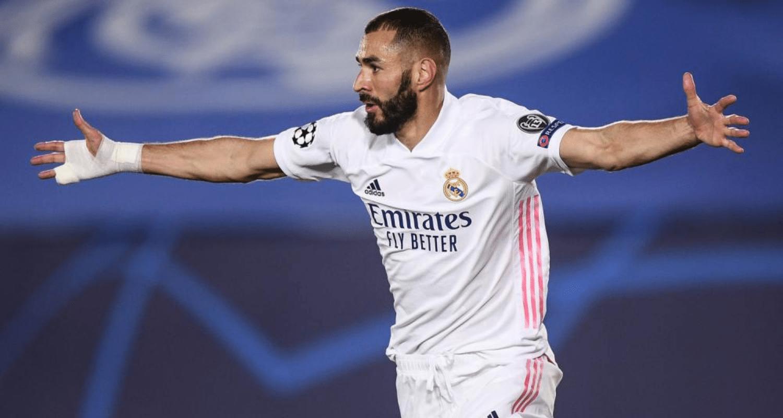 esultanza gol Karim Benzema Real Madrid