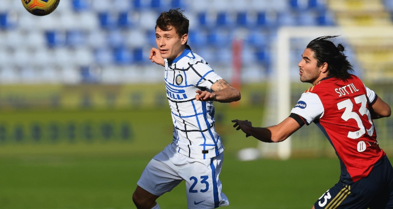 Barella Sottil Cagliari-Inter