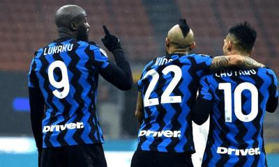 Lukaku Vidal Lautaro Martinez Inter