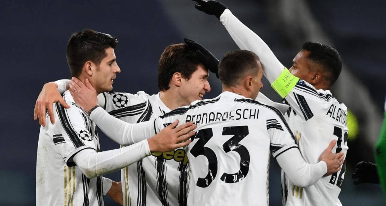 Morata esultanza gol Juventus
