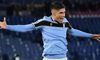 esultanza gol Joaquin Correa Lazio