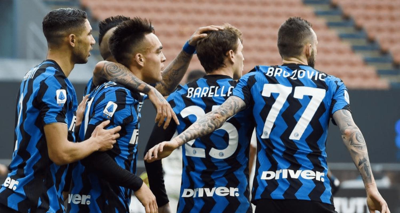 Barella Brozovic Lautaro Martinez Hakimi Inter