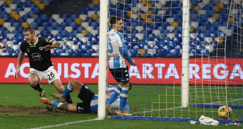 Gol Pobega Napoli-Spezia