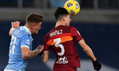 Roger Ibanez-Sergej Milinkovic Savic Lazio-Roma