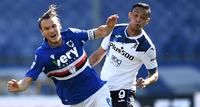Albin Ekdal-Luis Muriel Sampdoria-Atalanta