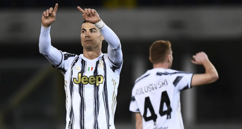 Cristiano Ronaldo Kulusevski Juventus