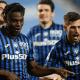 Esultanza gol Duvan Zapata Freuler Atalanta