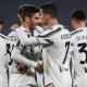 Esultanza gol Juventus Bentancur Ronaldo