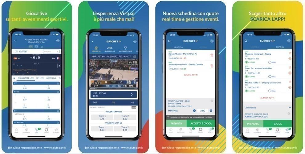 eurobet app scommesse