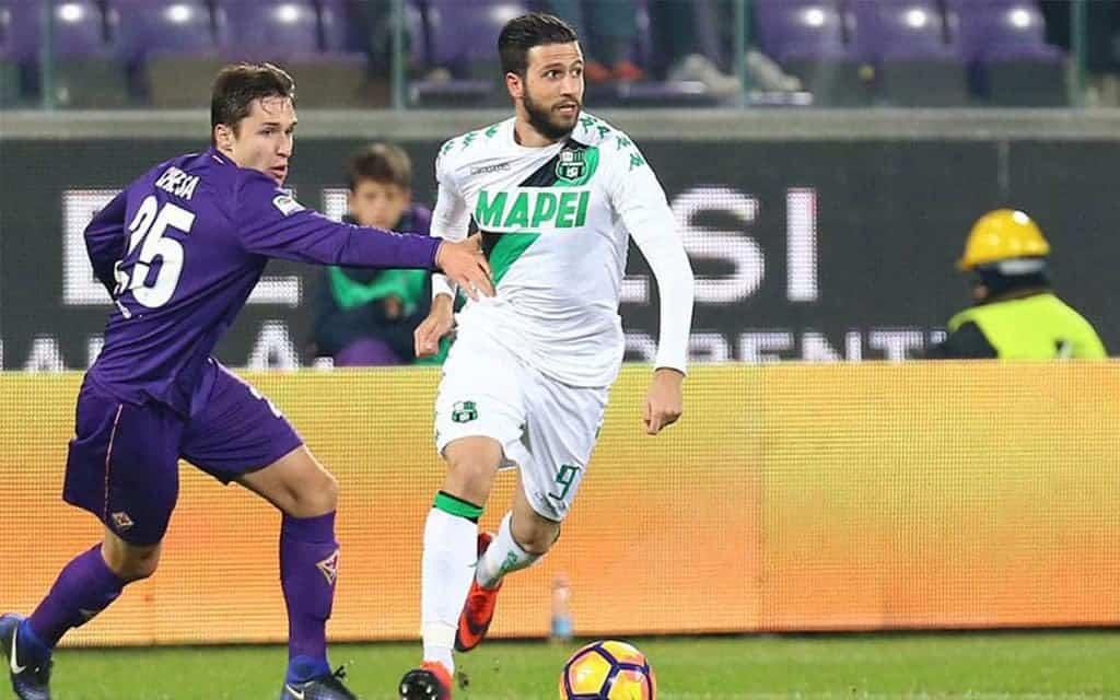 Iemmello-Chiesa-Sassuolo-Sassuolo-Fiorentina