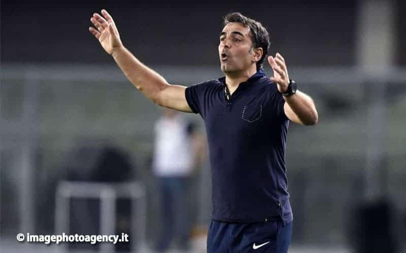 """Hellas Verona, Pecchia: """"La Lazio non è in difficoltà. Mi aspetto una reazione"""""""