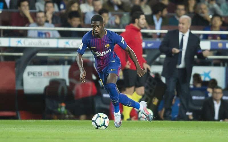 Barcellona, che batosta: Dembelè resterà fuori 4 mesi