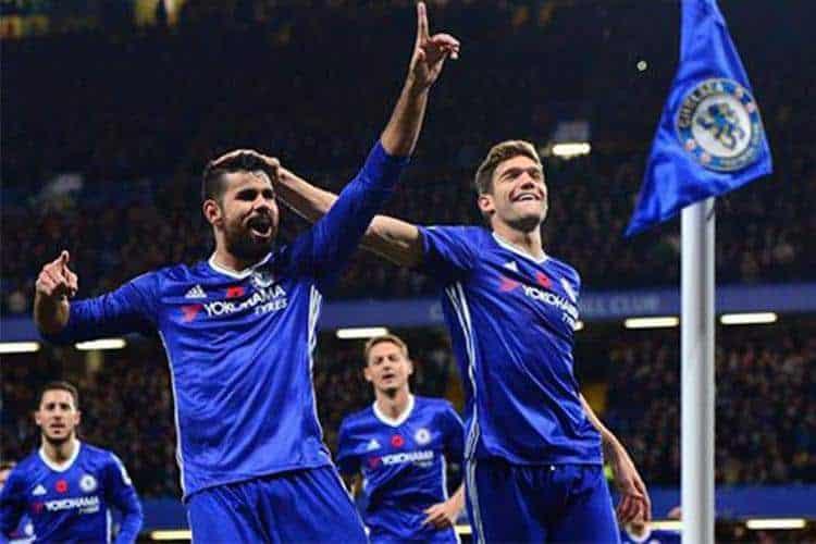 Chelsea: Conte scarica Diego Costa con un sms: