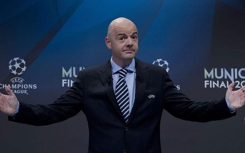 """Qatar 2022, Infantino: """"I Mondiali si giocheranno in novembre e dicembre"""""""