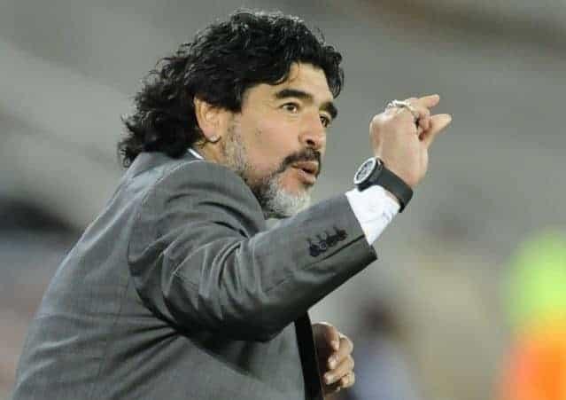 """Maradona sul VAR: """"Giusto che ci sia la tecnologia. FIFA più trasparente"""""""