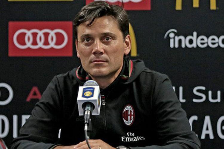 """Milan, Montella: """"Kalinic? Non un bomber, ma funzionale. Il passaggio dipende da noi"""""""