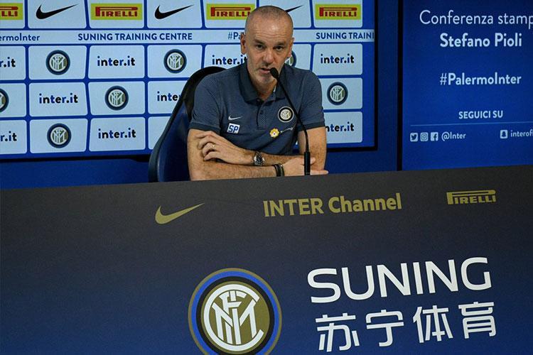 Conferenza stampa Pioli Genoa-Inter